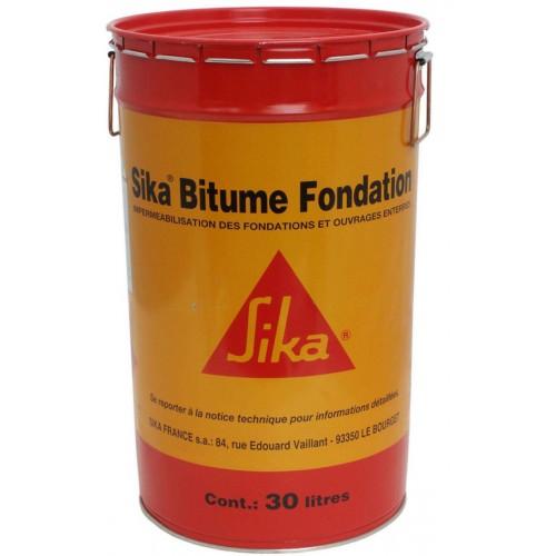 Sika Bitume Fondation - Tonnelet 30 litres