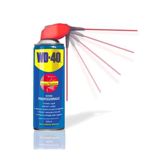 Dégrippant multifonction WD-40 - Spray 500ml