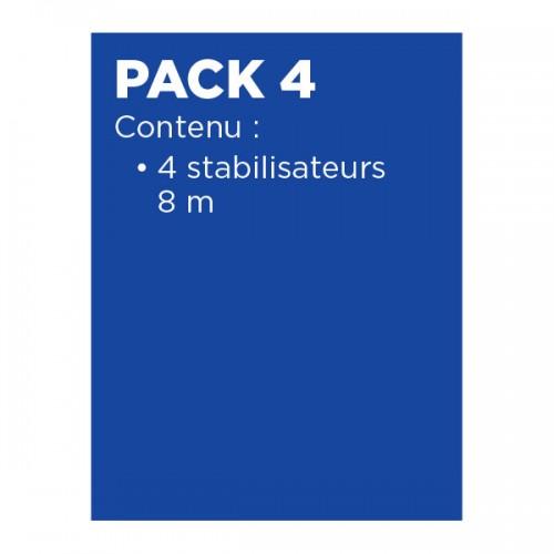 PACK 4 POUR TOTEM2 LINE 180