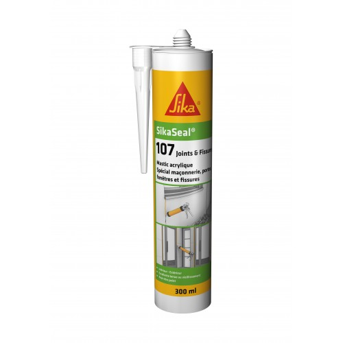 SIKASEAL 107 Acrylique - Joints & Fissures